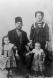Βασίλης Σακελλαρίδης με Χρυσαυγή Γιακουβάκη και τέκνα Μαρίκα και Σταύρο