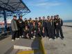 Η ομάδα της Τριγλίας στο λιμάνι της Ραφήνας