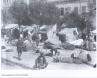 Σκηνές προσφύγων σε πλατεία του Πειραιά