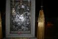 Η εικόνα της Παναγίας της βρεφοκρατούσας –  Α' όψη.